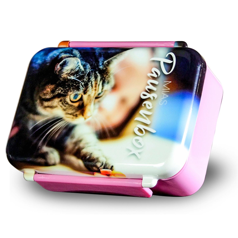 Lunch Box imprimée avec votre propre photo - rose