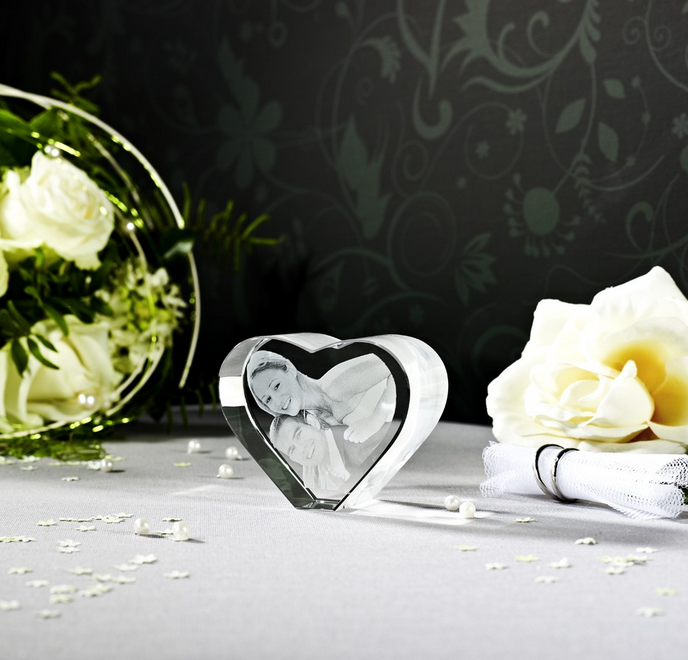 Coeur 3D Viamant Taille M (1-2 pers)