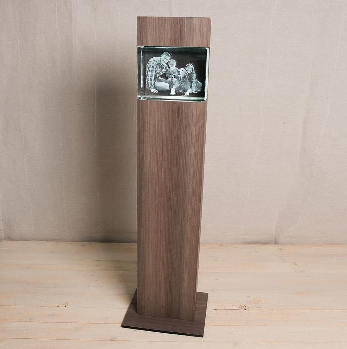 """Colonne pour Big Block Paysage, Série """"Ceramic Wood"""""""
