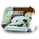 Lunch Box imprimée avec votre propre photo - blanc
