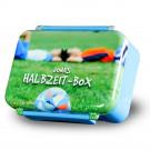 Lunch Box imprimée avec votre propre photo - bleu