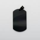 Pendentif Dog Tag XL, couleur noir
