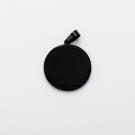 Pendentif Rond M, couleur Noir