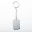 Porte-clés  Dog-Tag XL, couleur Acier