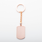 Porte-clés  Dog-Tag XL, couleur or rose