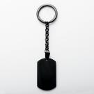 Porte-clés  Dog-Tag XL, couleur noir