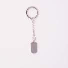 Porte-clés  Dog-Tag M, couleur Acier