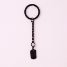 Porte-clés  Dog-Tag S, couleur Noir