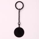 Porte-clés rond L, couleur Noir