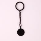 Porte-clés rond M, couleur Noir