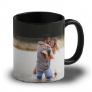 Photo Mug - Noir + effet surprise