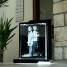 Photo Laser 2D Prisme Portrait Taille XXL