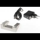 Support lumineux PETIT verre plat + Prise USB