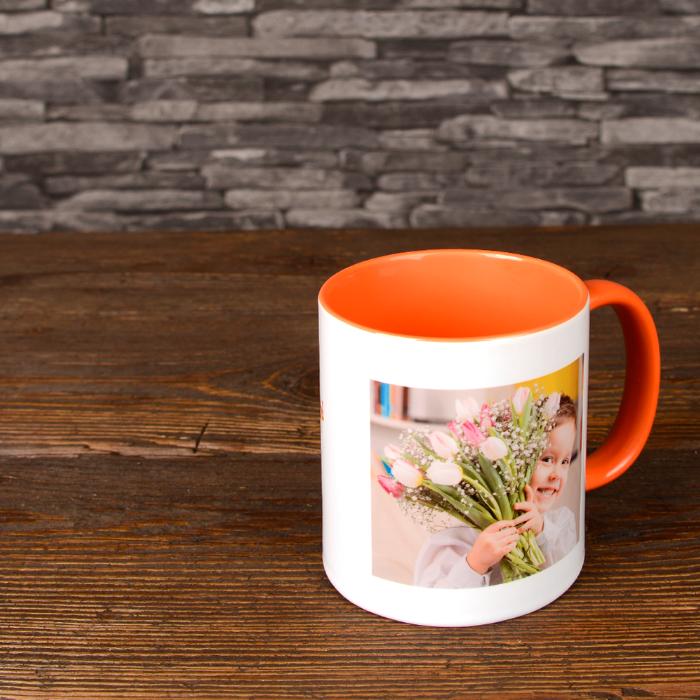 Mug Photo orange