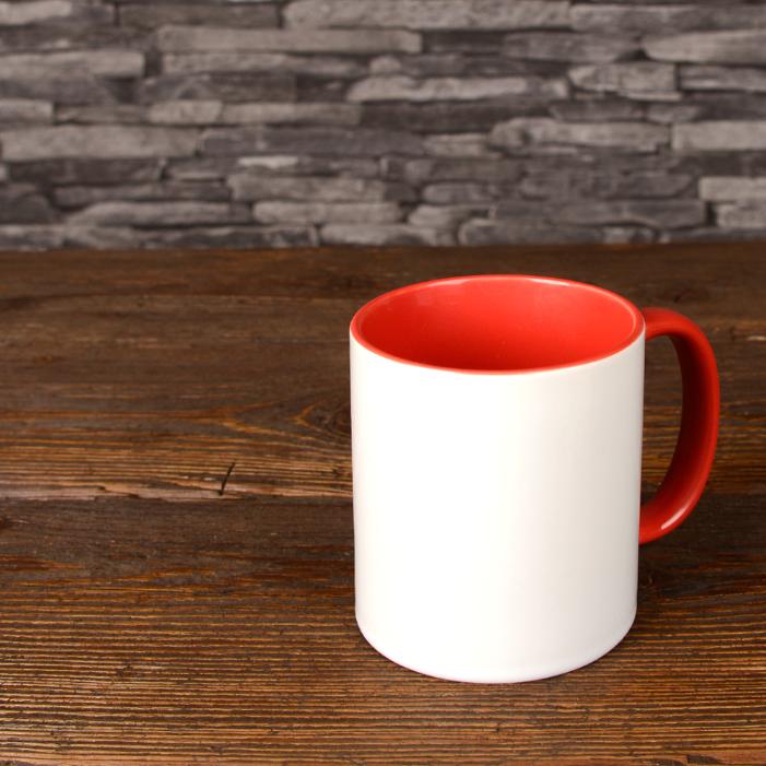Mug Photo Rouge