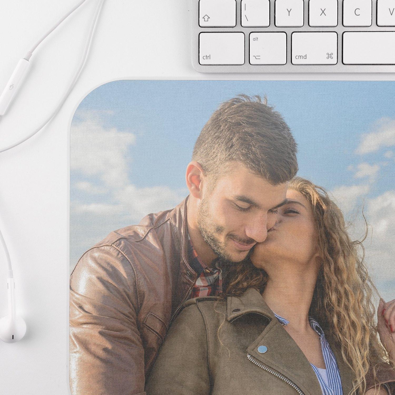 Tapis souris taille L avec photo